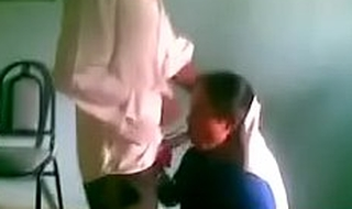 Indian desi hot sexy school girl blowjob to her boyfriend after school