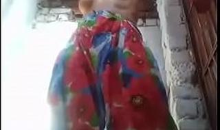 Desi girl peeing