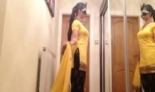 Masked Punjabi Slut from Loveforcams free porn video