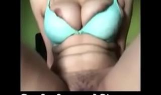 Hairy Cum-hole Teen Cowgirl Riding Creampie POV