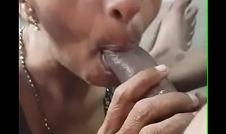 Cumshot on musilm aunty mouth 8