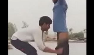 Indian desi gay mohsin stripped naked in public off out of one's mind friend
