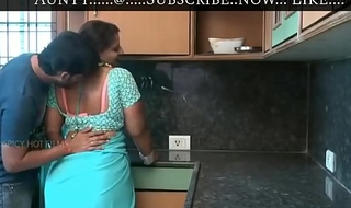 Hot aunty and Boy Romance Aunty