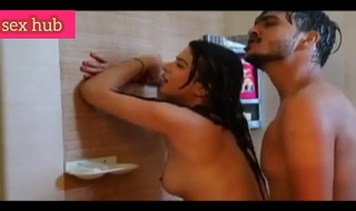 Indian girl bathroom sex