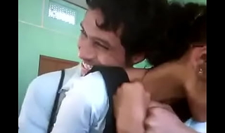 Desi School Kissing