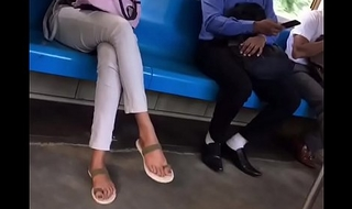 astonishing interesting girl pink toes