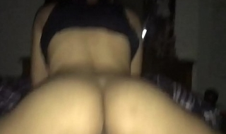 Indian Punjabi NRI pussyfart riding dick and letting cum inside