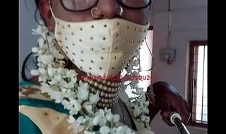 Indian crossdresser model Lara D'Souza saree video 4