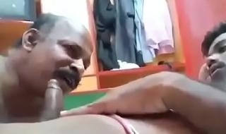 Desi bottom uncle sucking big cock