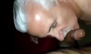 white older man enjoying desi Indian man dick