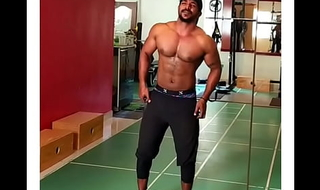 Gay Desi indian gym strip