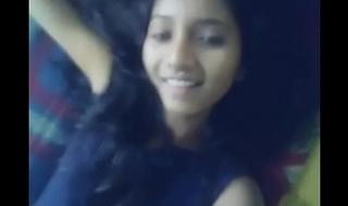 Indian girl shows her beautiful black gaping ass MMS