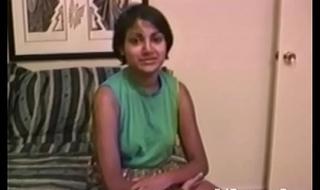 Indian crude in vintage porno sucks cock
