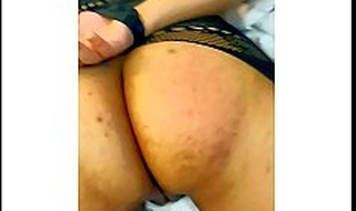SLOW MOTION ASS SPANKING PUNISHMENT FOR INDIAN Fixture IN FISHNETS About HANDS TIED UP BEHIND FOR CHEATING TILL ASS IS COVERED About RED MARKS