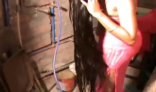 Indian Desi bhabhi bathroom sex video