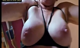 Cumshot By Hot Granny