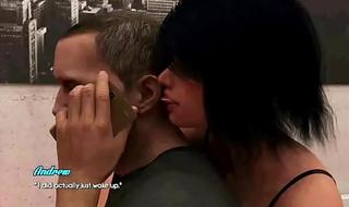 Relaciones Caliente Epi 8 Hablo por Telefono con mi Esposa Mientras me Follo a su Hijastra Hermosa y Bien Perra
