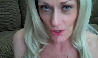 Having A Blow With Amateur GILF