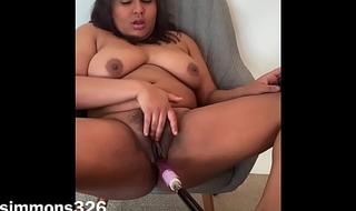 Horny Indian Slut First Fuck Machine Video