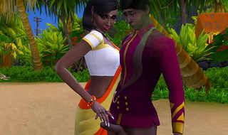 Indian Brother And Sister On Vacation Fucking Outdoor On The Beach For The First Time Part. 2