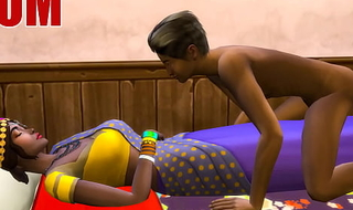 Indian Mom And Son - Visits Dam In Her Room Ans Sharing The Same Bed
