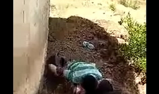 Cheating Indian wife caught fucking outside