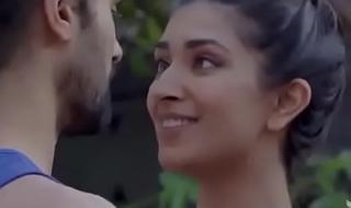 Hot Indian Yoga Teacher Kissing