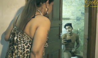 Desi Aunty light of one's life nephew in be used up