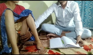 Indian Teacher and student intercourse