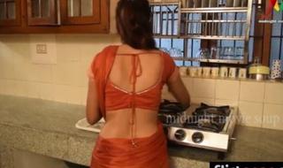 Aunty Mona – Hot Operation love affair take the Kitchen