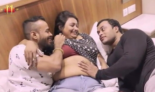 Indian bbw Mousi Has Threesome Sex With Toyboy