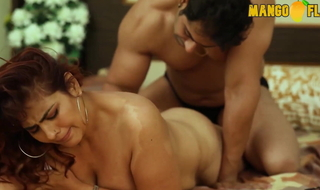 Indian plump mom with her sons friend