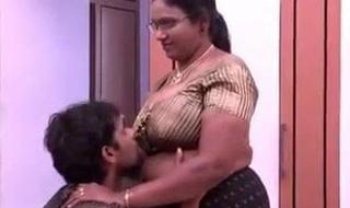 aunty's heavy boobs as an individual room