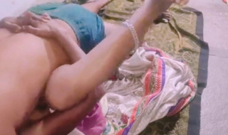 Sex with desi wife in ill-lighted sari