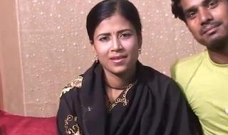 Indian wife, full night honeymoon sex