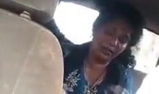 Desi mallu aunty banged in car
