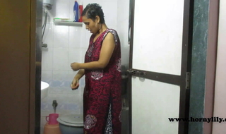 Indian Girl Horny Lily In Shower Encircling Dirty Hindi Audio