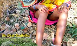 Village Outdoor Nude Dehati Woman In Saree – Hindi Porn Video