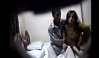 pakistani fond of clamp hardcore voyeur sexual intercourse recorded apart from hiddencam