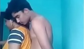 Indian Desi Aunty Arpita thither Teen