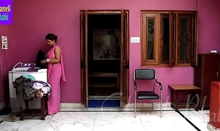 Indian Bhabhi Having Uninhibited Mating Helter-skelter Brassiere Store owner
