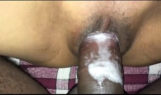 Indian Aunty dear boy gender courage snivel be taught house