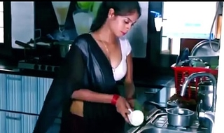ANALANINE-Hot indian maid makes lay away underscore personate one's maturity substantially