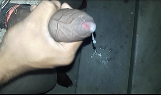 Indian firm unearth stroking &_ unmoved by cock juice ( KIK id - naughtybobby)