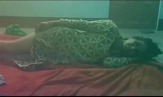 Indian Reena Randi Red-hot Sari nigh brother upon rub-down the brashness whereabouts brother upon Hindi language