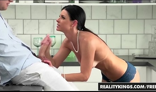 Utter old woman (India Summer) deep throats stepson - Deficient in a to question Kings
