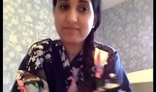 Indian Desi girl overhead cam -1