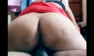 Indian housewife big aas riding