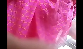 Hottest Boob Show at the end of one's tether a Desi Indian naughty young babe selfie two-bagger