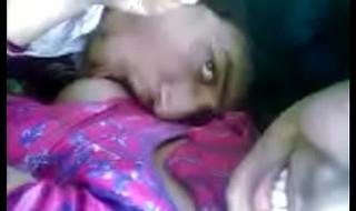 Desi Girl Diya Boobs Sucked at Release Place